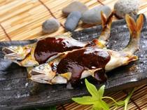 特製味噌だれが素材の良さを引き立てる『鮎魚田』