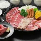 いろんなお肉の美味しい部分を盛り込んだ『Family Set』