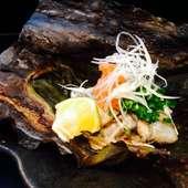 牡蠣の松前焼