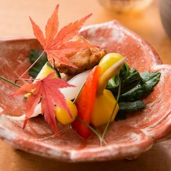 【ランチ花懐石】季節の食材を堪能お昼のおすすめコース