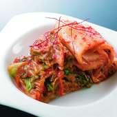 【亜李蘭】自家製の美味しいこだわり『キムチ』