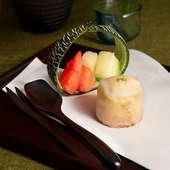 St.Valentine チョコムース「ラニ」2/11(祝)~14(金)まで特別デザートをフルコースで限定でご用意します。