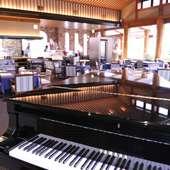 ピアノの生演奏が聴けるお店