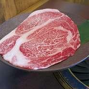 松阪牛 大判いちまいロース肉