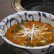 赤いユッケジャンスープ