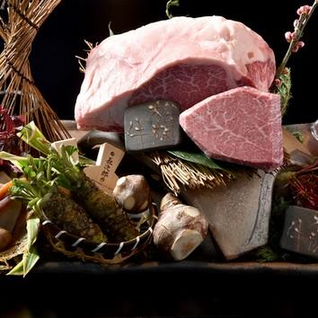 松阪牛と仙台牛の厳選赤身食べ比べコース!¥7500(税込み)