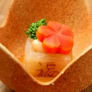 お祝いコース 豪華伊勢海老:前菜