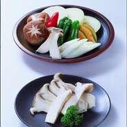 玉葱・長葱・ピーマン・人参・椎茸 等々※写真はイメージです。