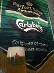 当店の生ビールはグラスや注ぎ方など徹底し最高に美味しい状態で提供しています。 カールスバーグ認定店、この生ビールが好きでご来店されるお客様も多くいます。 当店の生ビールを飲んで「うまい!」と一言。