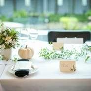 """まるで、新婚 新居に遊びに来たような心温まるサービスと新鮮 で 美味しいフランス料理を提供。 埼玉県唯一のモダンで洗練された空間が花嫁の美しさをより輝かせてくれる。 来賓の方々への""""おもてなし""""をテーマにしたウェディング。 お世話になったゲストの笑顔にお二人が包まれる事を約束。"""