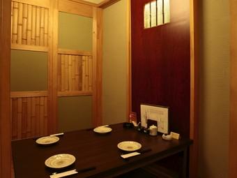 全室個室! 周りを気にせずお食事を楽しめるプライベート空間