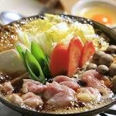 寒い季節にぜひ、あったかメニューをどうぞ『鶏すき鍋』