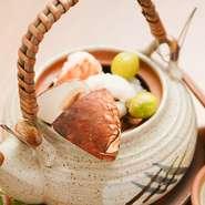ハモと松茸の土瓶蒸し