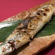 釧路産さんま塩焼