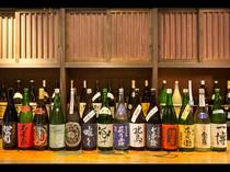 全国に名を馳せる個性豊かな滋賀の地酒を取り揃えています