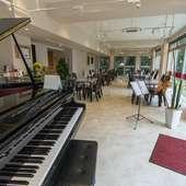 音楽を楽しむことができる、オシャレな雰囲気漂うこだわりの空間