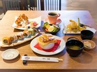 『お昼の和食ランチセット』少し贅沢したい日に。メインが選べて楽しい!