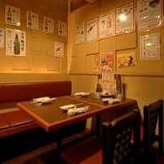 【寿々屋】が厳選した本場九州から取り寄せられた本格焼酎は、常時15種類以上。人気の芋焼酎から、米、麦、そばと様々な焼酎が用意されています。グラス売りもしているので呑み比べもOK。お好みの一本を探せます。