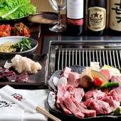 コース料理は4000円から!
