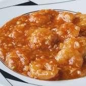 特製甘辛ソースが絶妙な美味しさ『海老のチリソース煮』