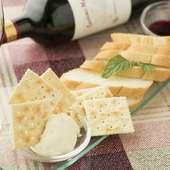自家製クリームチーズがワインに合う『足利大学入ぐチーズ』