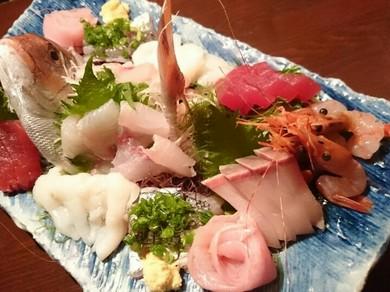 旬の鮮魚を堪能できる『本日のお造り盛り合わせ』