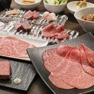 「焼肉うしごろ」と同様、国産A5黒毛和牛のお肉を取り扱い、ワインは高級ワインにも匹敵する美味しいものをリーズナブルな価格で取り揃えています。