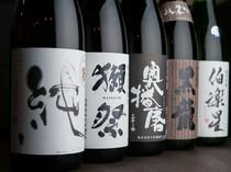 銘酒と名高い日本酒も仕入れています