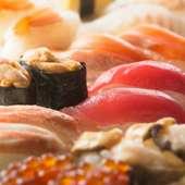 産地・鮮度共にこだわったお寿司を、職人が握ってご提供します。