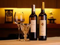 日本料理とワインの組み合わせも楽しめます