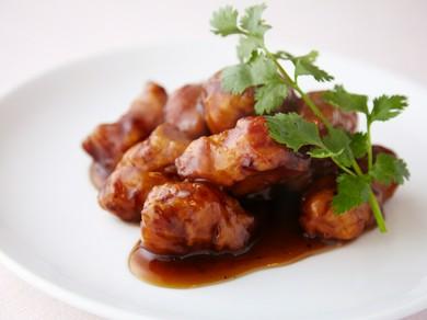 まろやかな酸味と甘さが決め手の『黒酢豚』