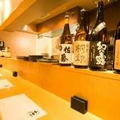 宮城の地酒を中心とし東北の地酒を色々楽しめます。