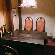 テーブル 椅子席 4名様まで
