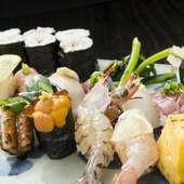 新鮮さと季節感溢れる、見た目も華やかな料理の数々でお祝いを。