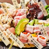 「枝豆+ポテトフライ」食べ放題無料♪+300円で焼き鳥食べ放題♪