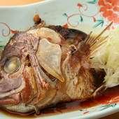 鮮度抜群! 旬の魚介類を使った絶品料理の数々