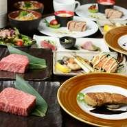 <忘年会などのご宴会にもオススメ>誰しも納得の高級食材をリーズナブルにご提供しております。贅沢なご宴会をお楽しみください。