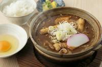 当店イチオシのおすすめメニュー『味噌煮込うどん定食』