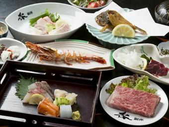 地元の方も観光客も大満足する、長崎の味覚がつまったコース料理