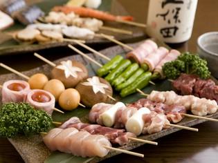 食材の旨みを活かしたバラエティー豊かな『串料理』