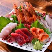 釧路は魚がおいしい町。新鮮な魚介類が毎日港から届きます