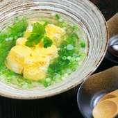 和風のやさしい味わい『WABI-SABIのだし巻き卵』