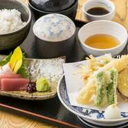 天ぷら&お刺身 御膳