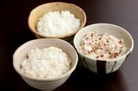 御膳のご飯は麦ご飯・雑穀米・白米の3種から選ぶ事ができます。