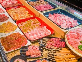 その日に使う肉類は、全てその日に捌いています