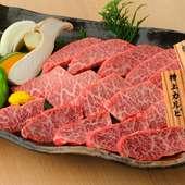 別々に頼むよりずっとお得、焼野菜も添えられた『松永牧場盛り』