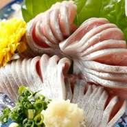 政寿司特製のうにだれでお召し上がりいただけます。