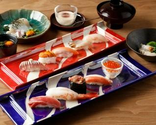 お寿司を中心に召し上がりたい方に。 美味しいところを集めました。