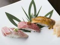 職人技が冴える。本物の『炙り寿司』はひと味違います