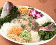 真鯛のお刺身香港風(3~4人前)